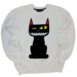 Scary Cat Sinister Pet 21Men Pulllver Sweater